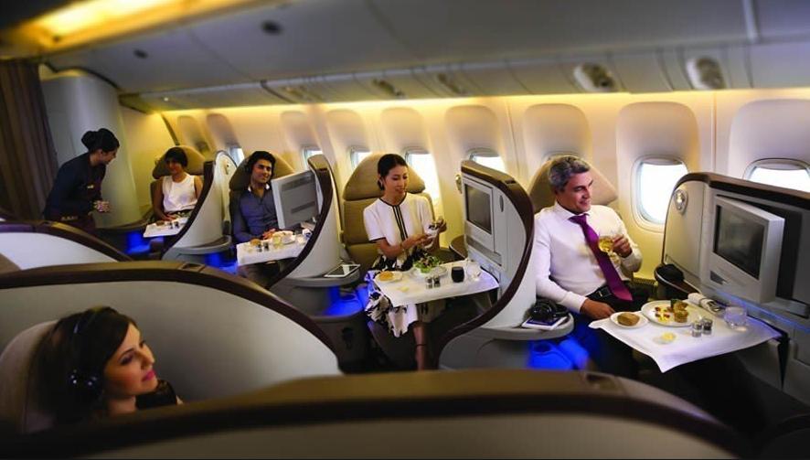 intérieur avion jet ariways