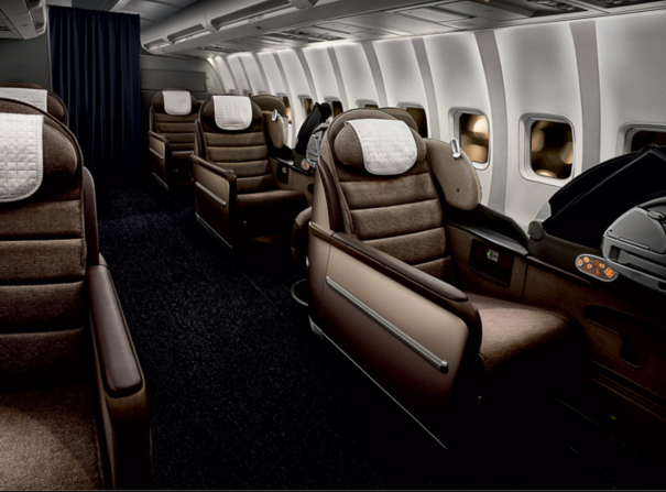 intérieur avion openskies