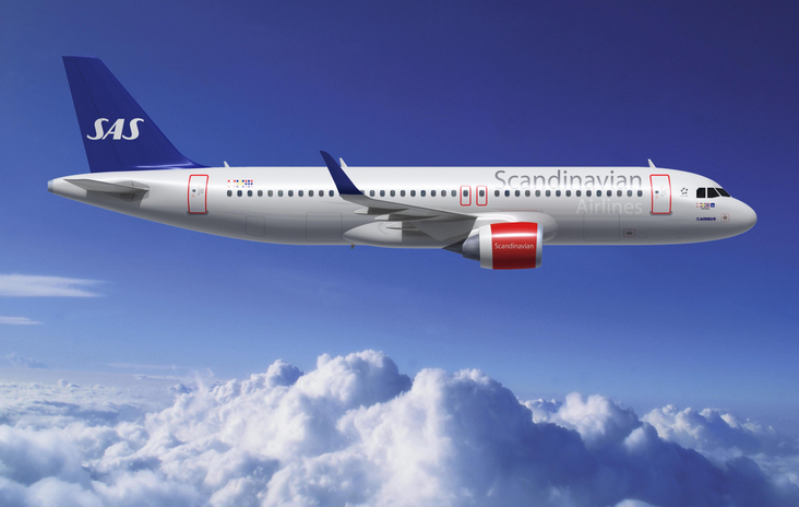 avion scandinavian airlines
