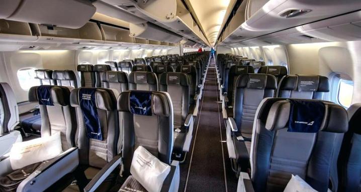 cabine avion iceland air