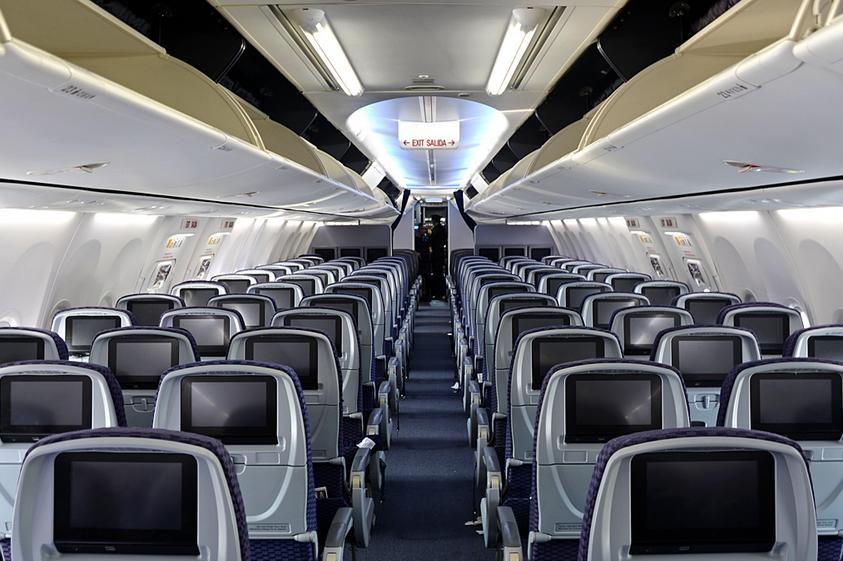 intérieur avion copa airlines