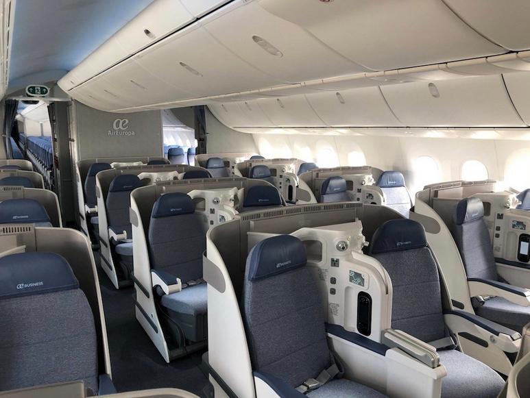 intérieur cabine air europa
