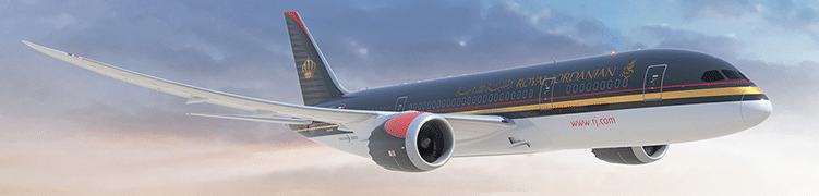 Avion Royal Jordanian Airlines