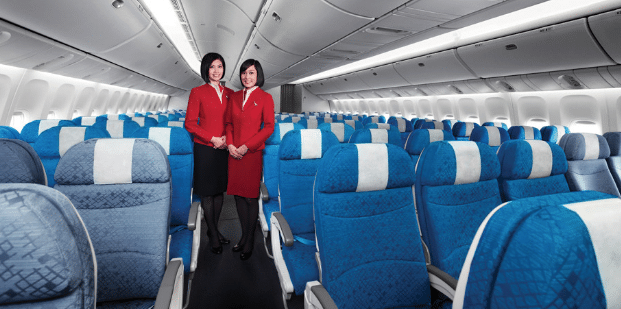 Aperçu Intérieur Cabine Cathay Pacific