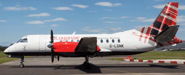 Avion de la compagnie Loganair
