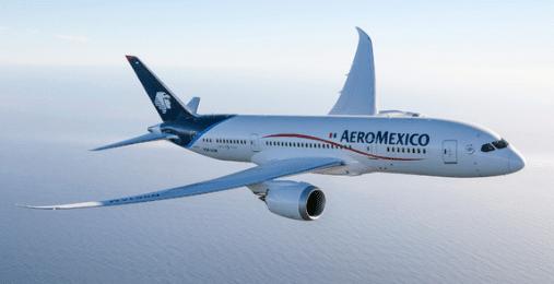 Avion Aéromexico