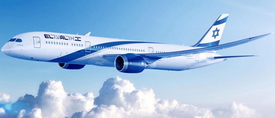 Avion El Al Israel Airlines