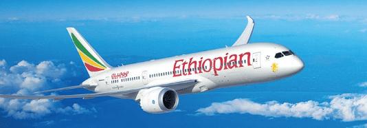 Avion Ethiopian Airlines