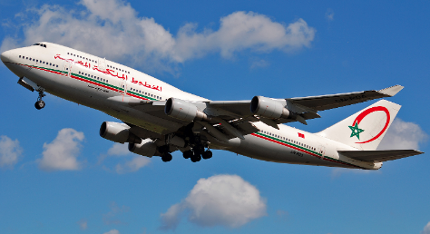 Avion Royal Air Maroc