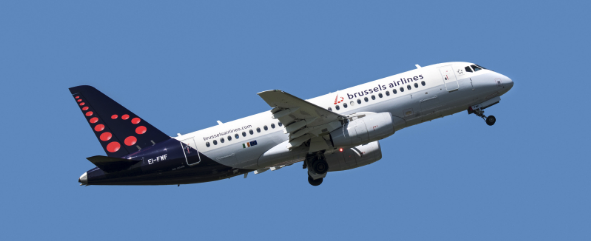 Avion Brussels Airlines