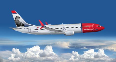 Avion Norwegian Airlines