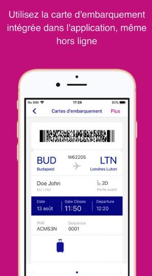 Enregistrement Wizz Air
