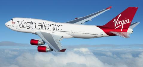 Avion Virgin Atlantic